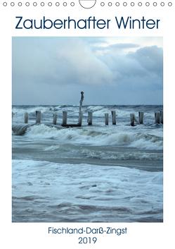 Zauberhafter Winter Fischland Darß Zingst (Wandkalender 2019 DIN A4 hoch) von Grobelny,  Renate