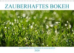 Zauberhaftes Bokeh – Glitzernde Welt winziger Wassertropfen (Wandkalender 2020 DIN A3 quer) von Jäger,  Anette/Thomas