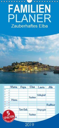 Zauberhaftes Elba – Familienplaner hoch (Wandkalender 2019 , 21 cm x 45 cm, hoch) von Hampe,  Gabi