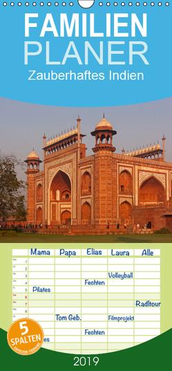 Zauberhaftes Indien – Familienplaner hoch (Wandkalender 2019 , 21 cm x 45 cm, hoch) von Seifert,  Birgit