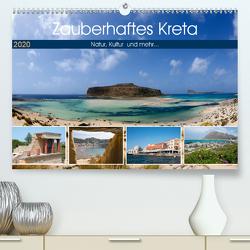 Zauberhaftes Kreta (Premium, hochwertiger DIN A2 Wandkalender 2020, Kunstdruck in Hochglanz) von Scholz,  Frauke