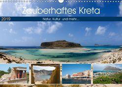 Zauberhaftes Kreta (Wandkalender 2019 DIN A3 quer) von Scholz,  Frauke