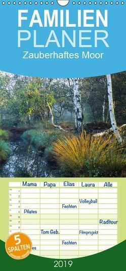 Zauberhaftes Moor – Familienplaner hoch (Wandkalender 2019 , 21 cm x 45 cm, hoch) von Bücker,  Michael