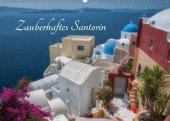 Zauberhaftes Santorin (Wandkalender 2019 DIN A2 quer) von Willmann,  Stefan