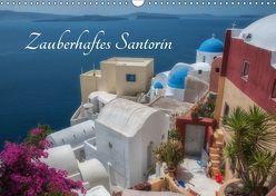 Zauberhaftes Santorin (Wandkalender 2019 DIN A3 quer) von Willmann,  Stefan
