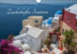 Zauberhaftes Santorin (Wandkalender 2019 DIN A4 quer) von Willmann,  Stefan