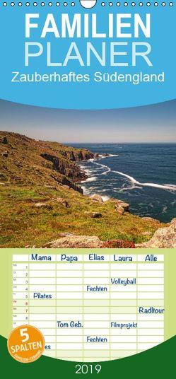 Zauberhaftes Südengland – Familienplaner hoch (Wandkalender 2019 , 21 cm x 45 cm, hoch) von Nordbilder