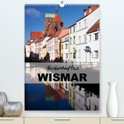 Zauberhaftes Wismar (Premium, hochwertiger DIN A2 Wandkalender 2021, Kunstdruck in Hochglanz) von boeTtchEr,  U