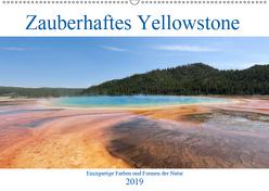 Zauberhaftes Yellowstone – Einzigartige Farben und Formen der Natur (Wandkalender 2019 DIN A2 quer) von Anders,  Holm