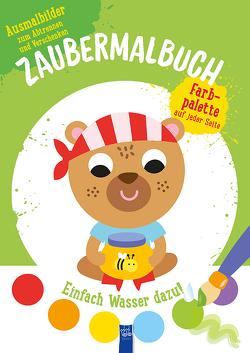 Zaubermalbuch – Bär (grün)