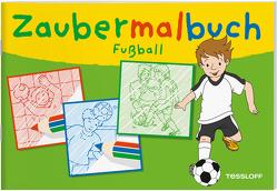 Zaubermalbuch Fußball von Beurenmeister,  Corina, Lohr,  Stefan