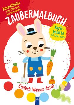 Zaubermalbuch – Hase (rot)