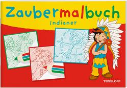 Zaubermalbuch Indianer von Lohr,  Stefan