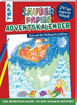 Zauberpapier Adventskalender von Pautner,  Norbert