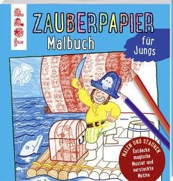 Zauberpapier Malbuch für Jungs von Pautner,  Norbert