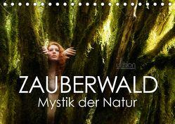 ZAUBERWALD Mystik der Natur (Tischkalender 2018 DIN A5 quer) von Allgaier (ullision),  Ulrich