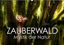 ZAUBERWALD Mystik der Natur (Wandkalender 2020 DIN A2 quer) von Allgaier (ullision),  Ulrich