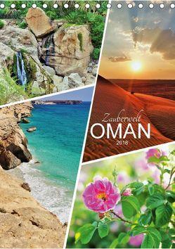 Zauberwelt Oman (Tischkalender 2018 DIN A5 hoch) von Reining,  Sabine