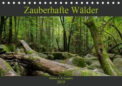 Zauberwelt Wald (Tischkalender 2019 DIN A5 quer) von Langlotz,  Markus