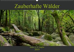 Zauberwelt Wald (Wandkalender 2019 DIN A2 quer) von Langlotz,  Markus