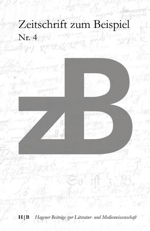 zB Zeitschrift zum Beispiel Nr. 4 von Niehaus,  Michael