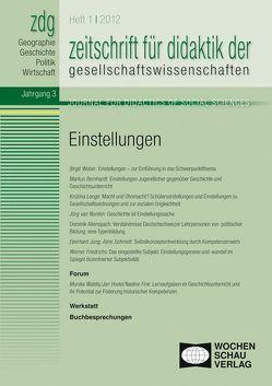 Einstellungen von Gautschi,  Peter, Rhode-Jüchtern,  Tilmann, Sander,  Wolfgang, Weber,  Birgit