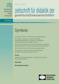 ZDG 1/13, Symbole von Gautschi,  Peter, Rhode-Jüchtern,  Tilmann, Sander,  Wolfgang, Weber,  Birgit