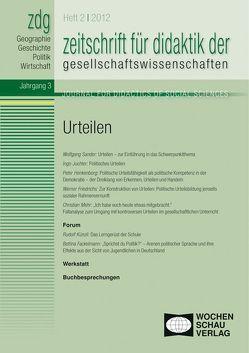 ZDG 2/12, Urteilen von Gautschi,  Peter, Rhode-Jüchtern,  Tilmann, Sander,  Wolfgang, Weber,  Birgit