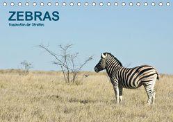 Zebras – Faszination der Streifen (Tischkalender 2019 DIN A5 quer) von Krebs,  Thomas