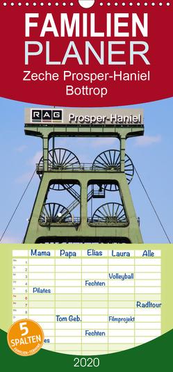 Zeche Prosper-Haniel Bottrop – Familienplaner hoch (Wandkalender 2020 , 21 cm x 45 cm, hoch) von Daus,  Christine