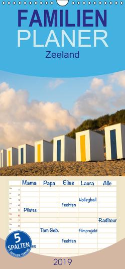 Zeeland – Familienplaner hoch (Wandkalender 2019 , 21 cm x 45 cm, hoch) von Bücker,  Michael