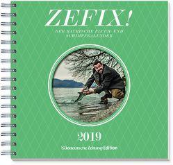 Zefix Tischkalender 2019 von Bolle,  Martin, Keller,  Markus, Mothwurf,  Ono
