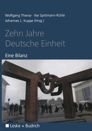 Zehn Jahre Deutsche Einheit von Thierse,  Wolfgang
