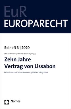 Zehn Jahre Vertrag von Lissabon von Martini,  Stefan, Rathke,  Hannes