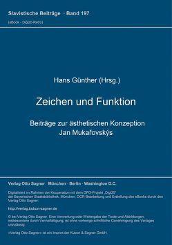 Zeichen und Funktion von Günther,  Hans