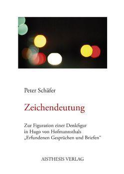 Zeichendeutung von Schaefer,  Peter