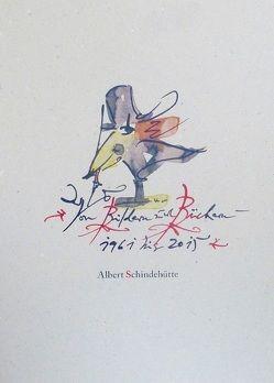 """Zeichenheft Nr. 7 """"Von Bildern und Büchern – 1961 bis 2015"""" von Schindehütte,  Albert"""