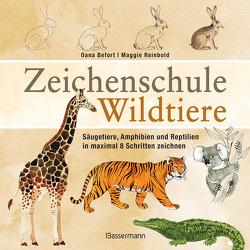 Zeichenschule Wildtiere von Befort,  Oana, Reinbold,  Maggie
