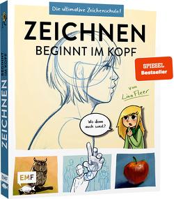 Zeichnen beginnt im Kopf – Die ultimative Zeichenschule vom YouTube-Star LinaFleer von Fleer,  Lina