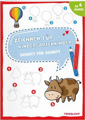 Zeichnen für Kindergartenkinder. Schritt für Schritt von Schwendemann,  Nadja
