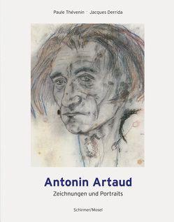 Zeichnungen und Portraits von Artaud,  Antonin, Derrida,  Jacques, Thévenin,  Paule, Werle,  Simon