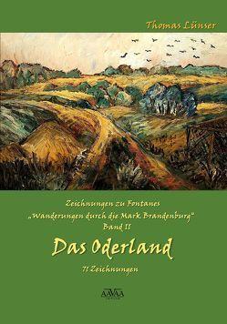 """Zeichnungen zu Fontanes """"Wanderungen durch die Mark Brandenburg"""" – Band II von Lampe,  Roland, Lünser,  Thomas"""