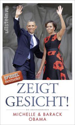 Zeigt Gesicht! von Gravert,  Astrid, Obama,  Barack, Obama,  Michelle