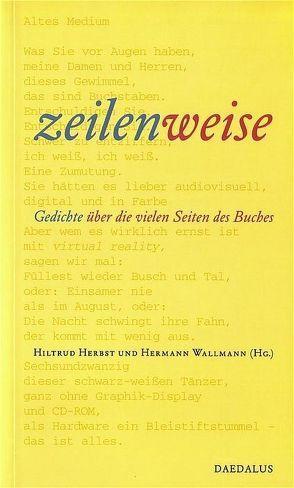 zeilenweise von Herbst,  Hiltrud, Wallmann,  Hermann