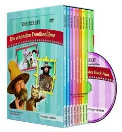 ZEIT-Edition: Die schönsten Familienfilme (10 DVD) von Lindgren,  Astrid, Nordqvist,  Sven, Parvela,  Timo, Preussler,  Otfried, Twain,  Mark, Ungerer,  Tomi, van Loon,  Paul, Vincent,  Gabrielle