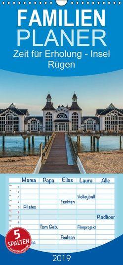 Zeit für Erholung – Insel Rügen / Geburtstagskalender – Familienplaner hoch (Wandkalender 2019 <strong>21 cm x 45 cm</strong> hoch) von Kirsch,  Gunter