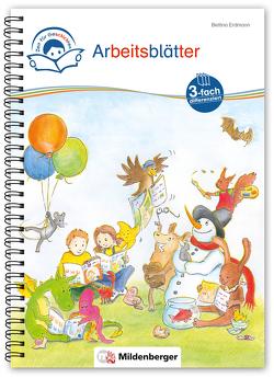 Zeit für Geschichten – 3-fach-differenziert – Arbeitsblätter zu den Leseheften 1 – 10 (Stufe A, B, C) von Erdmann,  Bettina, Gaida,  Katrin