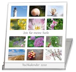 Zeit für meine Seele – Tischkalender 2020 – 12 Monate – Sprüche Fotos von Kolberg,  Anja