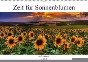 Zeit für Sonnenblumen (Wandkalender 2018 DIN A2 quer) von Gierok,  Steffen