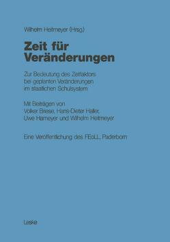 Zeit für Veränderungen von Briese,  Volker, Heitmeyer,  Wilhelm